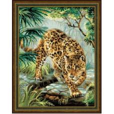 """Набор для вышивания Риолис 1549 """"Хозяин джунглей"""""""
