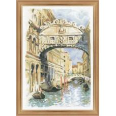 """Набор для вышивки Риолис 1552 """"Венеция. Мост вздохов"""""""