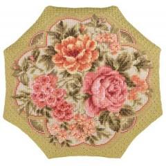 """Набор для вышивки Риолис 1558 Подушка """"Вечерний сад"""""""