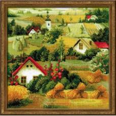 """Набор для вышивки Риолис 1569 """"Сербский пейзаж"""""""