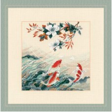 Набор для вышивки Риолис 1574 Танцующие рыбки
