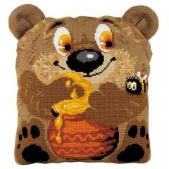 """Набор для вышивки Риолис 1590 Подушка """"Медвежонок"""""""