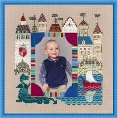 """Набор для вышивки Риолис 1617 Панно для фотографии """"Рыцарский замок"""""""
