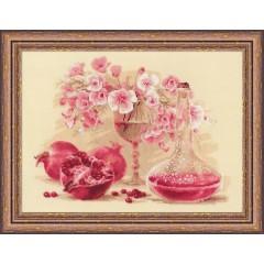 """Набор для вышивки Риолис 1618 """"Розовый гранат"""""""