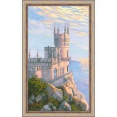 """Набор для вышивки Риолис 1645 """"Ласточкино гнездо"""""""