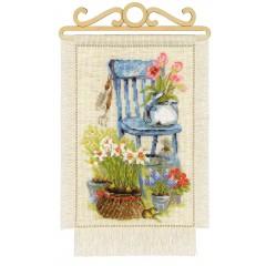 """Набор для вышивки Риолис 1656 """"Дача. Весна"""""""