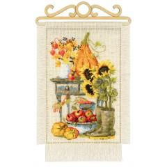 """Набор для вышивки Риолис 1657 """"Дача. Осень"""""""