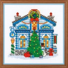"""Набор для вышивки Риолис 1662 """"Ледяной домик"""""""