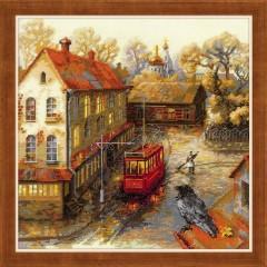 """Набор для вышивания Риолис 1676 """"Теплая осень"""""""