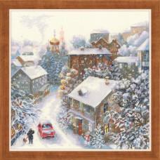Набор для вышивания Риолис 1678 Снежная зима