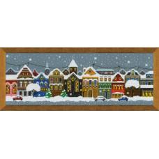 Набор для вышивания Риолис 1683 Рождественский город