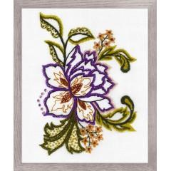 Набор для вышивания Риолис 1687 Цветочный этюд