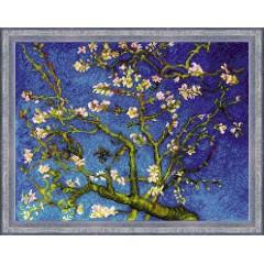 """Набор для вышивания крестом Риолис 1698 """"Цветущий миндаль"""" по мотивам картины Ван Гога"""