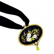 Набор для вышивания Риолис 1708АС Кулон Белая роза