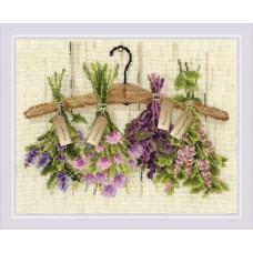 Набор для вышивания крестом Риолис 1717 Пряные травы