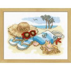 Набор для вышивания крестом Риолис 1719 Отдых на море