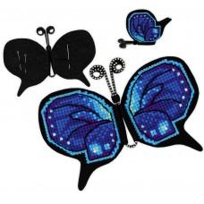 Набор для вышивки Риолис 1721АС Магнит. Игольница Бабочка