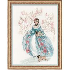 Набор для вышивки Риолис 1723 Рококо Прогулка