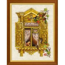 Набор для вышивания Риолис 1731 Окошко в Воробьево