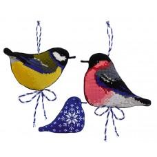 Набор для вышивки Риолис 1742 Зимние птички