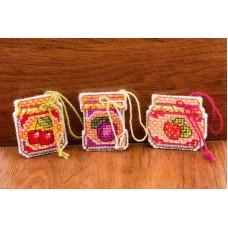 Набор для вышивки Риолис 1749АС Баночки с вареньем