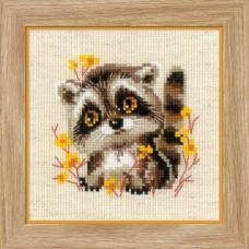 Набор для вышивки Риолис 1754 Маленький енотик