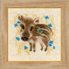 Набор для вышивки Риолис 1756 Маленький кабанчик