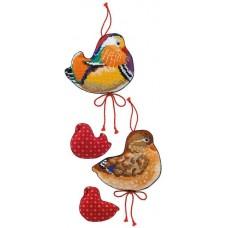 Набор для вышивки Риолис 1769 Утки мандаринки