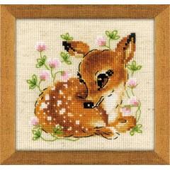 Набор для вышивания крестом Риолис 1777 Маленький олень