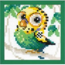 Набор для вышивания крестом Риолис 1785 Волнистый попугайчик