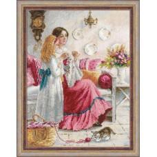 Набор для вышивания крестом Риолис 1789 Уроки вышивки