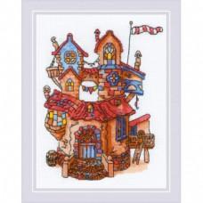 Набор для вышивания крестом Риолис 1844 Сказочный домик