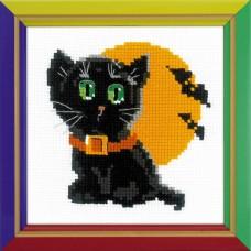 Набор для вышивания Риолис НВ-175 Черный кот