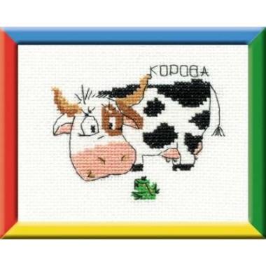 """Набор для вышивки Риолис НВ-042 """"Корова"""""""