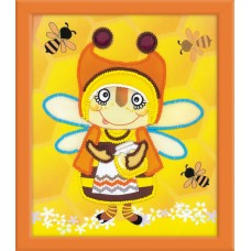 "Набор для вышивки Риолис РТ-0055 ""Бабушка Пчела"""