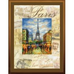 """Набор для вышивки Риолис РТ-0018 """"Города мира. Париж"""""""