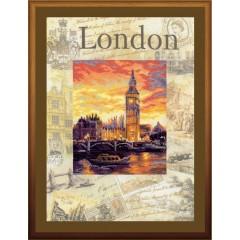 """Набор для вышивки Риолис РТ-0019 """"Города мира. Лондон"""""""