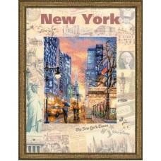 """Набор для вышивки Риолис РТ-0025 """"Города мира. Нью-Йорк"""""""