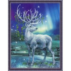 """Набор для вышивания Риолис РТ-0043 """"Белый олень"""""""