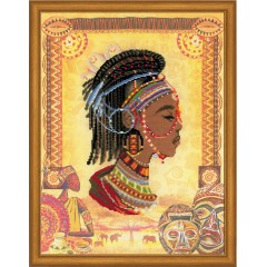 """Набор для вышивания Риолис РТ-0047 """"Африканская принцесса"""""""