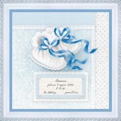 Набор для вышивки Риолис РТ-0082 Пинетки для мальчика