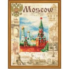 """Набор для вышивания Риолис РТ-0021 """"Города мира. Москва"""""""