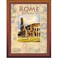 """Набор для вышивания Риолис РТ-0026 """"Города мира.Рим"""""""