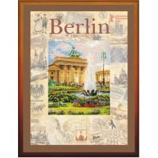 """Набор для вышивания Риолис РТ-0027 """"Города мира.Берлин"""""""