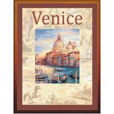 """Набор для вышивания Риолис РТ-0030 """"Город мира Венеция"""""""