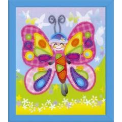 """Набор для вышивания Риолис РТ-0061 """"Сказочная бабочка"""""""