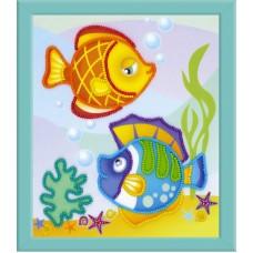 """Набор для вышивания Риолис РТ-0062 """"Морские рыбки"""""""
