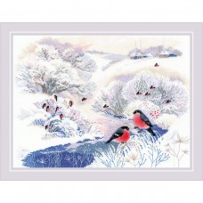 Набор для вышивания Риолис 1937 Зимняя речка