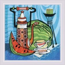Набор для вышивания Риолис РТ-0086 Сочный арбуз. Гладь