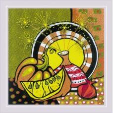 Набор для вышивания Риолис РТ-0087 Спелая тыква. Гладь